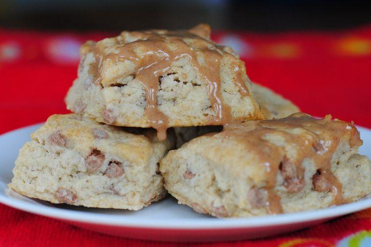 cinnamon roll scones | Sweet things | Pinterest