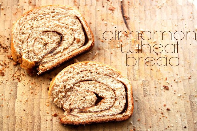 whole wheat cinnamon swirl bread | Food & Drink | Pinterest