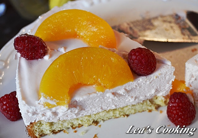 Peach Mousse Cake | Pudding, Mousse & Creamy Sweets | Pinterest