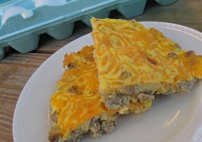 Sausage and cheese frittata | HEALTHY HEALTHY | Pinterest