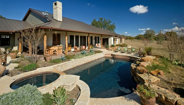 Ranch House Swimming Pool Ideas Pinterest