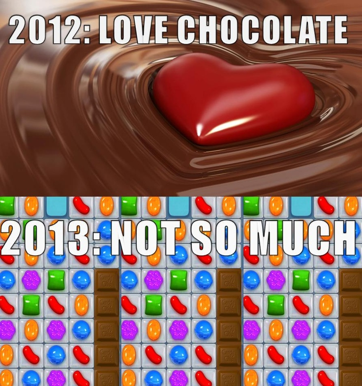 a new meme created out of Candy Crush frustration