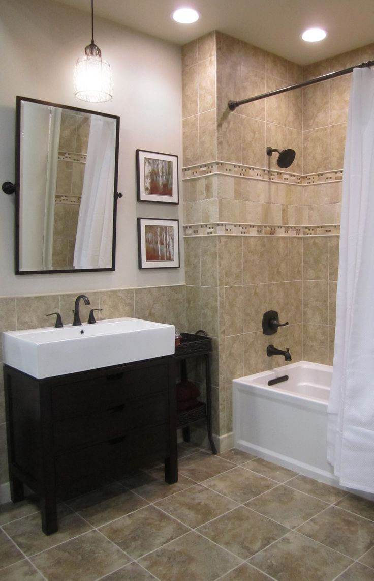 Transitional style bathroom thetileshop bathrooms for Bathroom bathroom bathroom