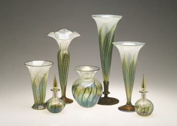 lundbergstudios - Art Glass Vases, Lamps, and Scent Bottles