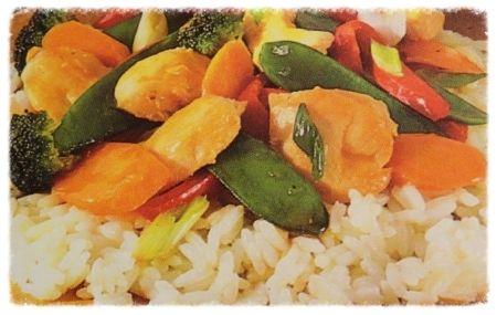 Orange marinated chicken stirfry | Favorite frugal recipes | Pinterest