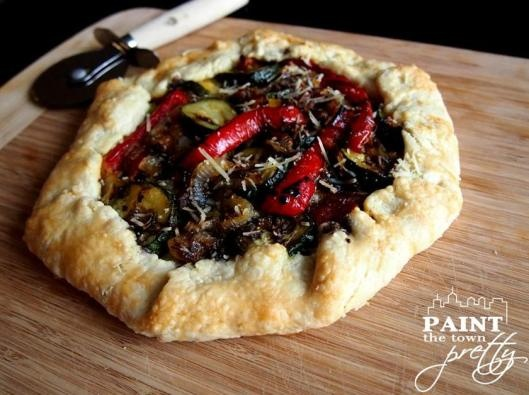 Roasted Vegetables and Balsamic Tart | Recipes | Pinterest