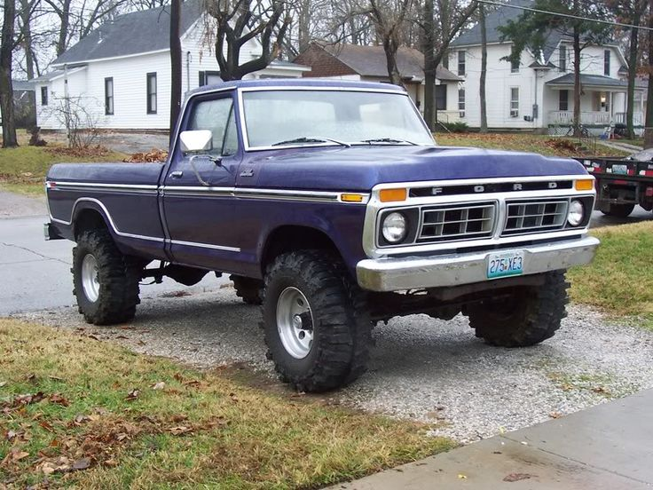 1977 Ford f-150. This is what my husbands mud truck looks like except
