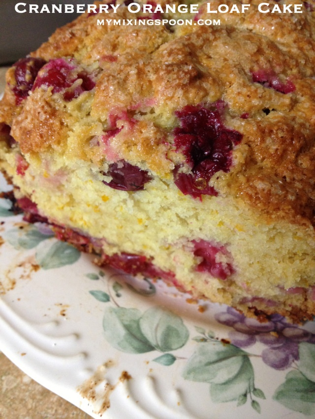 Cranberry Orange Loaf Cake | Baked Goodies | Pinterest