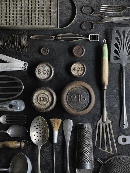 Vintage Kitchen Utensils Still Life I Love Pinterest