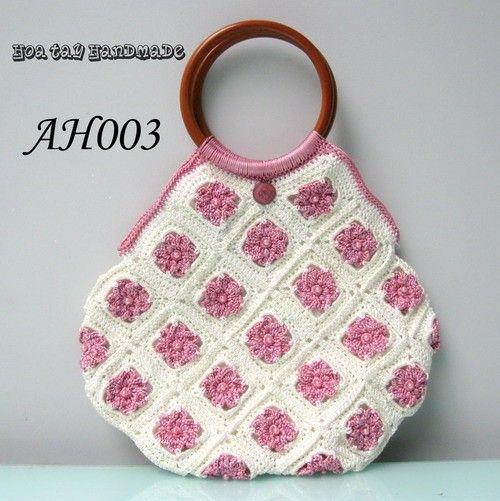 crochet bag Thank heaven for little girls!!! Pinterest