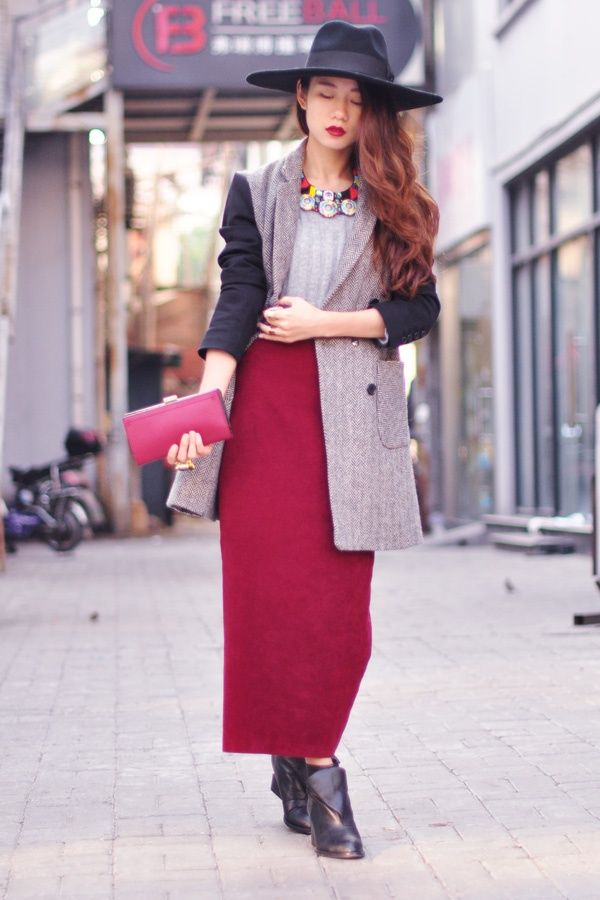 Street Style Wednesday China Fashion Ideas What To Wear Pint