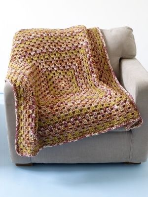Cotswold Granny Afghan