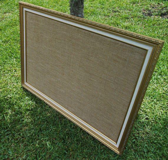 extra large framed bulletin board vintage frame cork. Black Bedroom Furniture Sets. Home Design Ideas