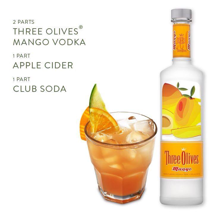 MANGO VODKA, APPLE CIDER, CLUB SODA | DRUNK IN LOVE (COCKTAILS) | Pin ...