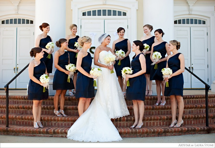 navy dresses with silver shoes bridesmaid dresses and