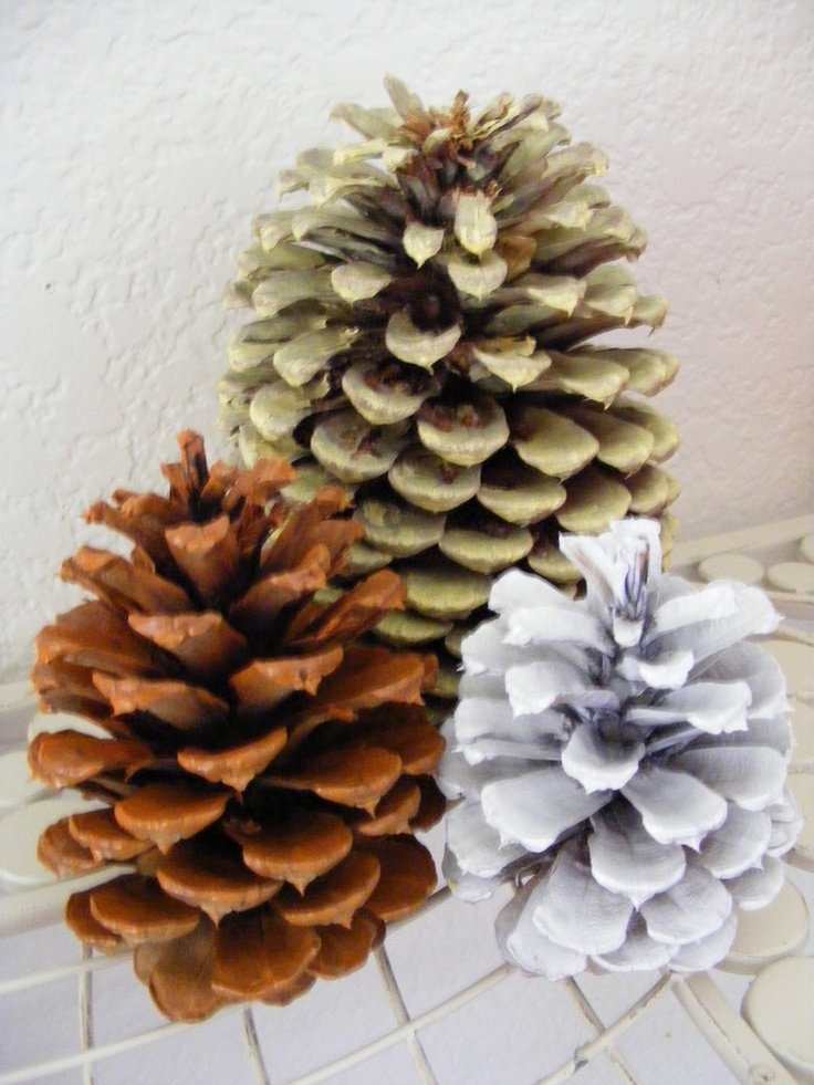 Halloween Pine Cone Craft