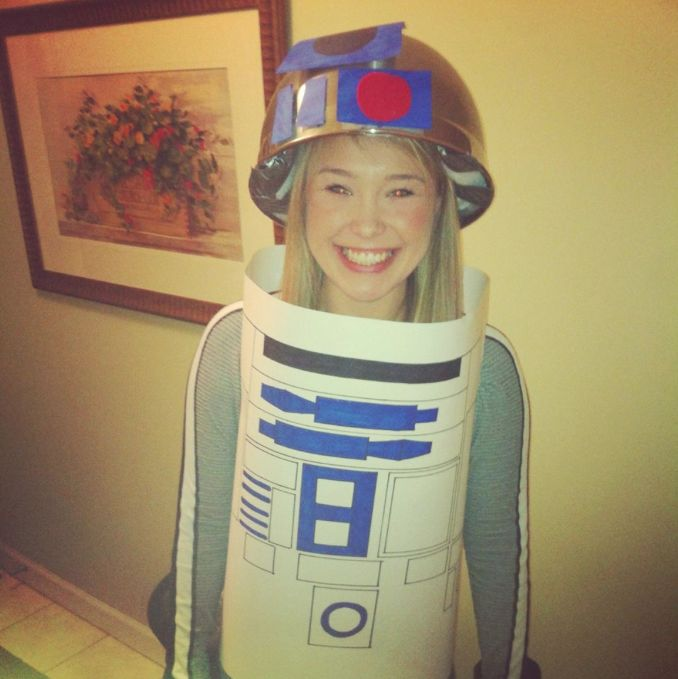 R2d2 Costume Diy Pin by Gayle Sherlag o...