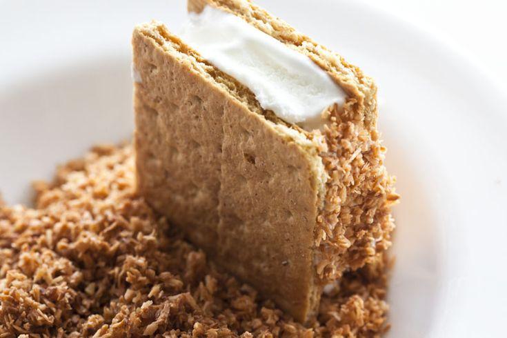 Coconut cream pie ice cream sandwiches | Wouldn't mind a taste. | Pin ...
