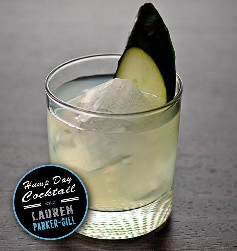 Cucumber Basil Gimlet - fresh basil leaves fresh cucumber, vodka ...