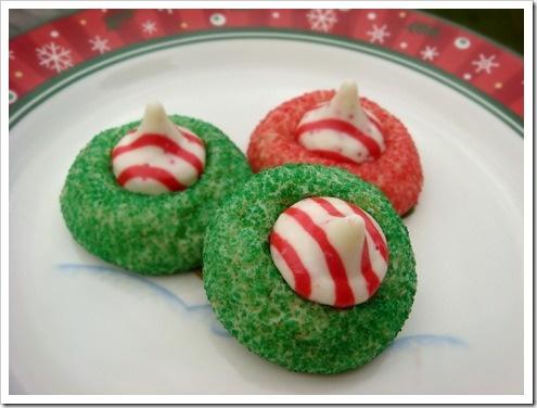 Candy cane kisses | Recipes Sweet Stuff | Pinterest