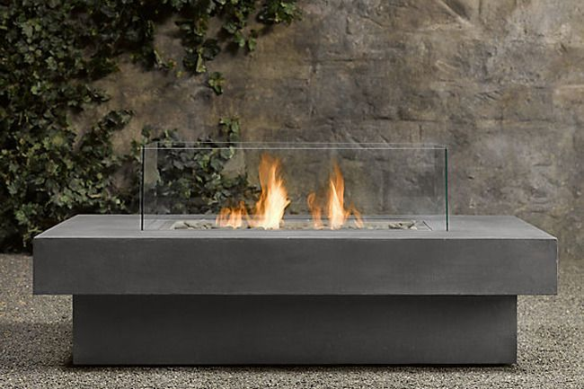Outdoor Fire Table Restoration Hardware Fire Pit
