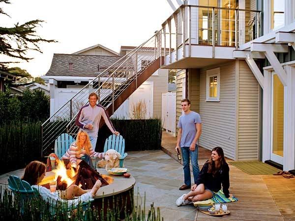 Backyard Bonfire Ideas : Backyard Chic Decoration Ideas  Bonfire  ??Backyard bliss