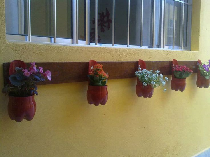 Con botellas decoraci n y reciclaje pinterest - Decoracion con reciclaje ...