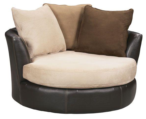 Swivel chair grand home furnishings 0194836