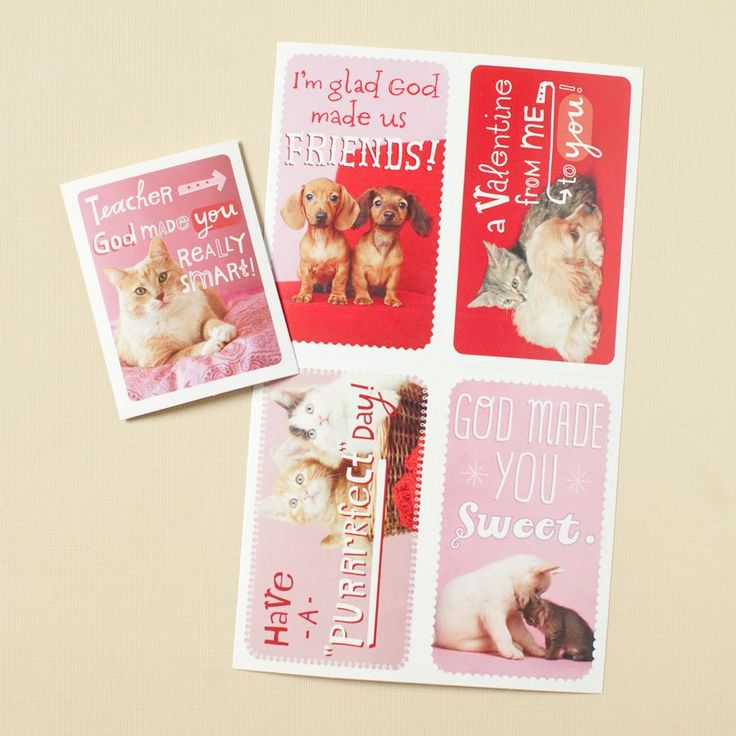 valentine cards boxed