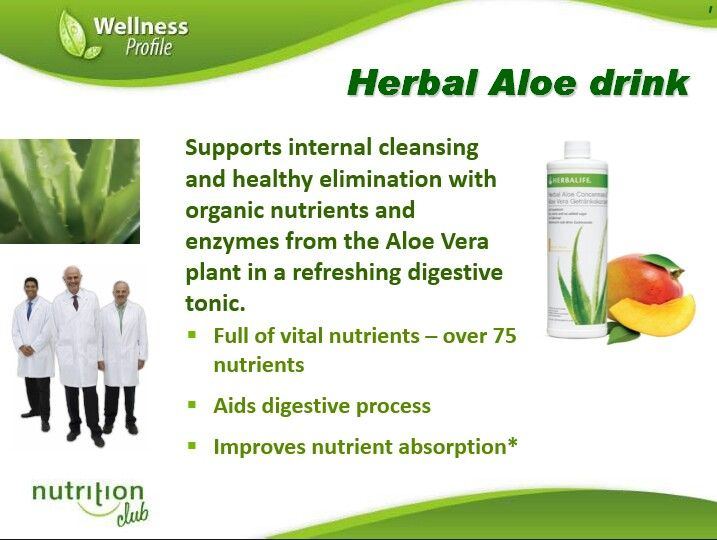 Herbalife digestive health products jsc
