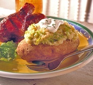 This stuffed baked potato is based on colcannon (kuhl-KAN-uhn), an ...