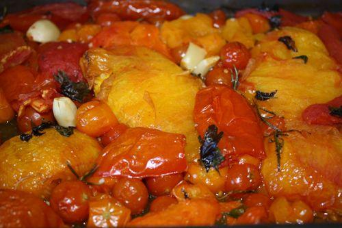 ... slow roasted tomatoes recipe slow roasted tomato slow roasted tomatoes