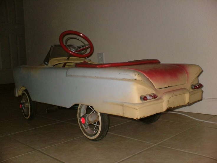 NEW PRODUCT: Heirloom Quality 53 Corvette Pedal Car