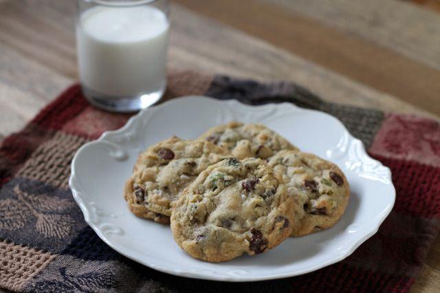 Dark Chocolate, Pistachio, & Sea Salt Cookies
