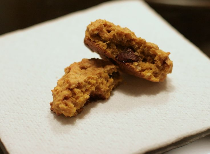 Pumpkin oatmeal chocolate chip cookies #dessert