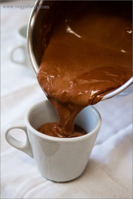 Easy Eggless Chocolate Pudding | Cakes & stuff | Pinterest