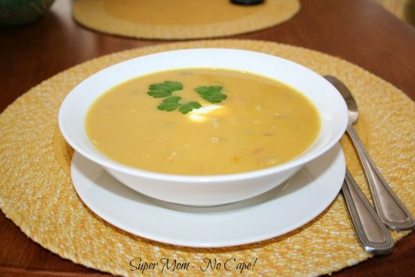 Carrot And Squash Curry Soup Recipe — Dishmaps
