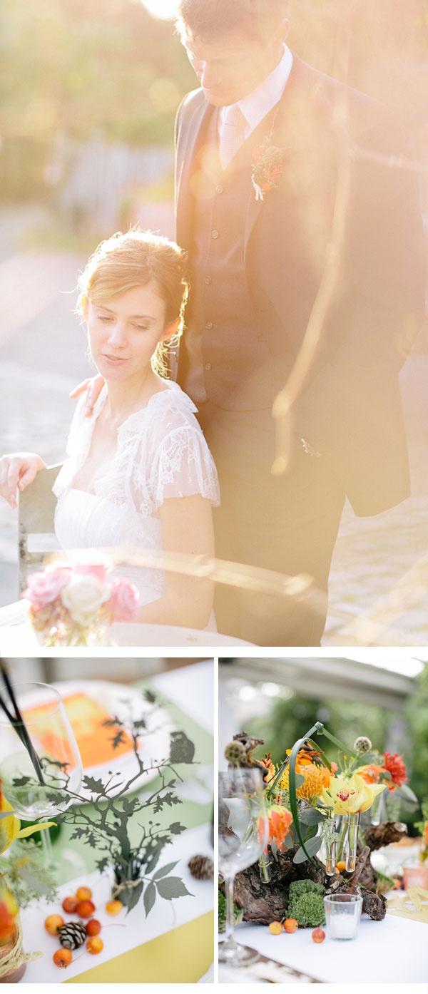 Herbst Dekoration  Hochzeitsdekoration- Ideen  Pinterest