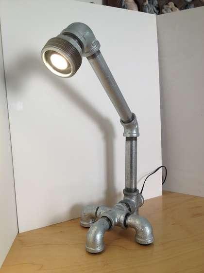 Diy industrial pipe lamp make me pinterest