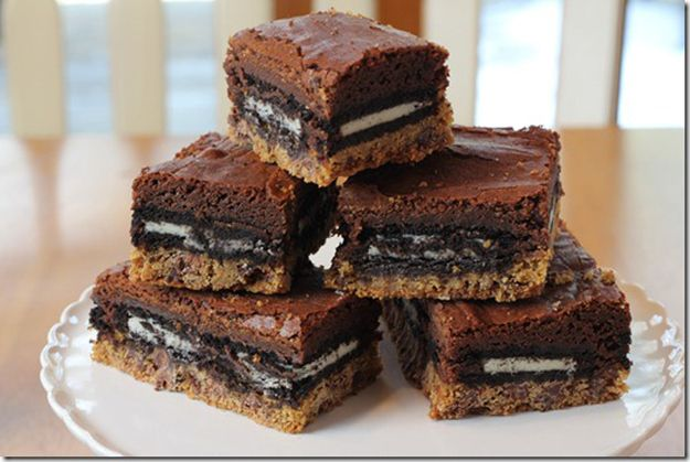 Slutty Brownies EVERYONE needs to check out ALL of these recipies ...