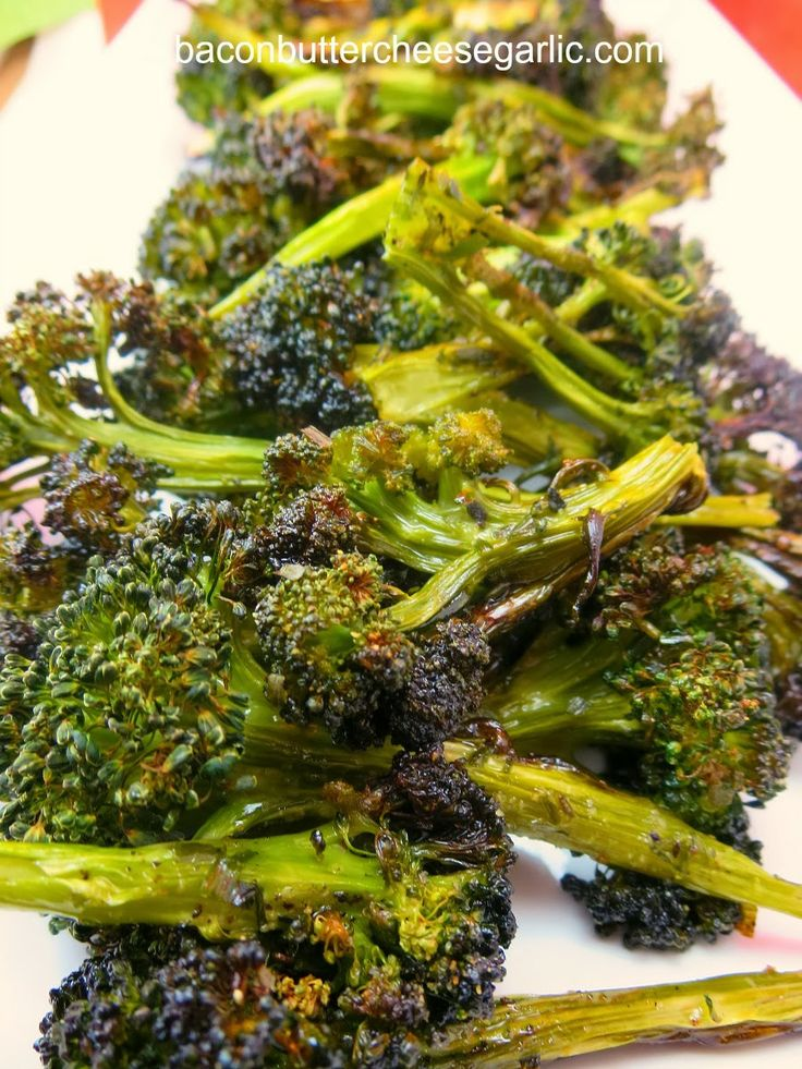 Crispy Roasted Broccoli. You will either love this or hate it. We ...
