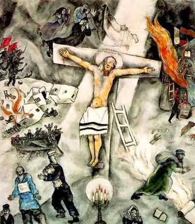 Pin by Deena Millett on Tell Me the Stories of Jesus - New ... Marc Chagall White Crucifixion