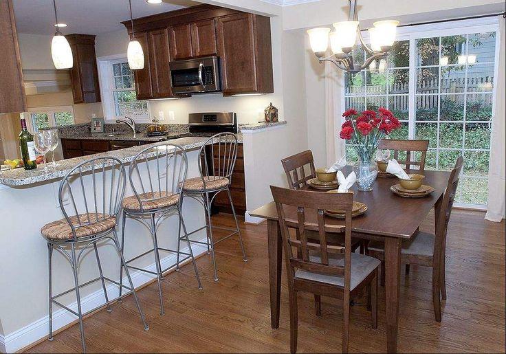 Ideas for renovation kitchen remodel pinterest for Split foyer kitchen