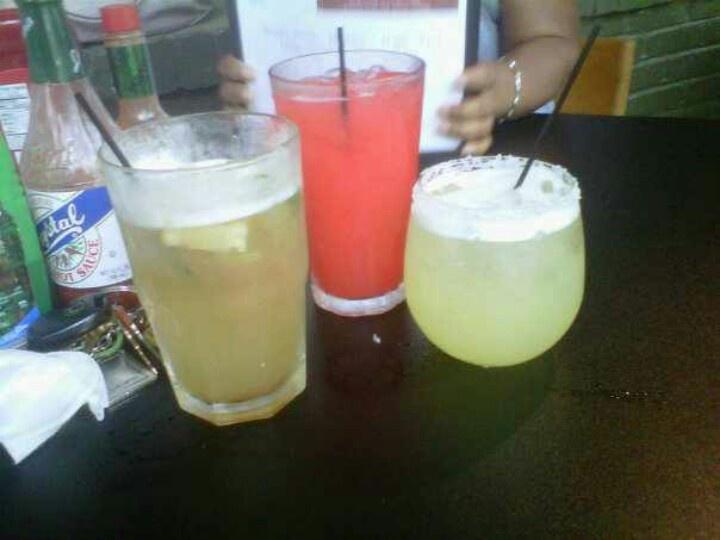Long Island Tea, Rum Punch, and Margarita. Drink anyone?
