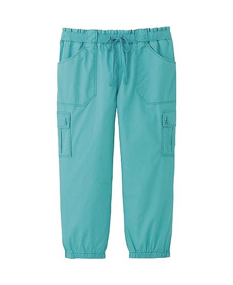 WOMEN CARGO CROPPED PANTS