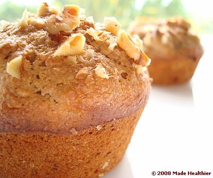 Banana Nut Muffins | Food | Pinterest