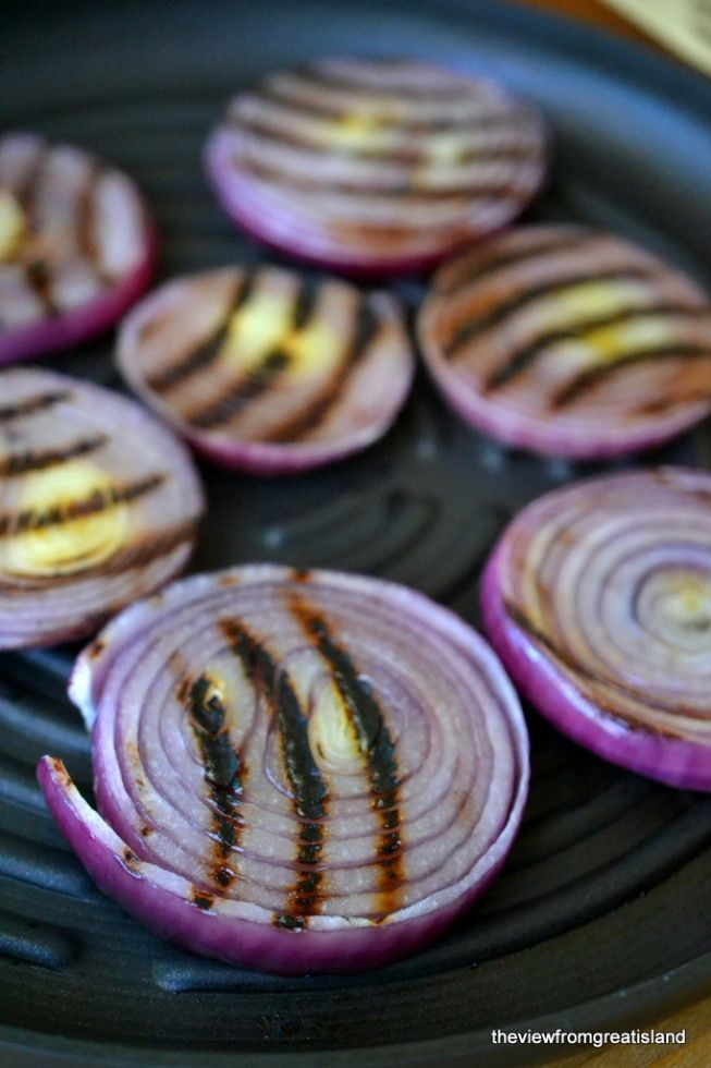 Red Onion Gratin - The View from Great Island