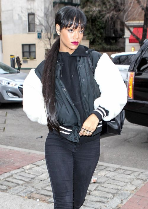 Rihanna Street Style Fashion Pinterest