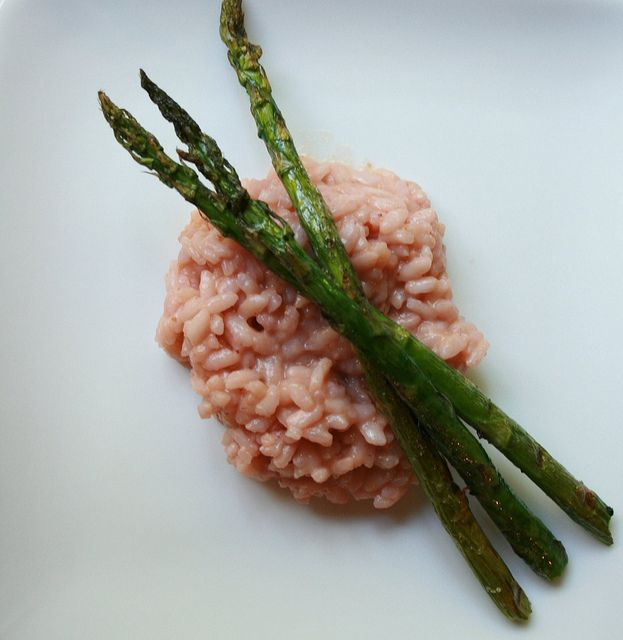 Strawberry Risotto...omg just made this, so simple and absolutely ...