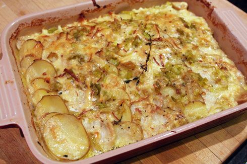 ... what I'm making for Thanksgiving - Young Potato and Celery Root Gratin